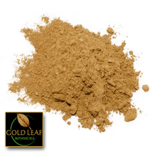 WIld-Harvested Red Bentuangie Kratom powder sold by Gold Leaf Botanicals.